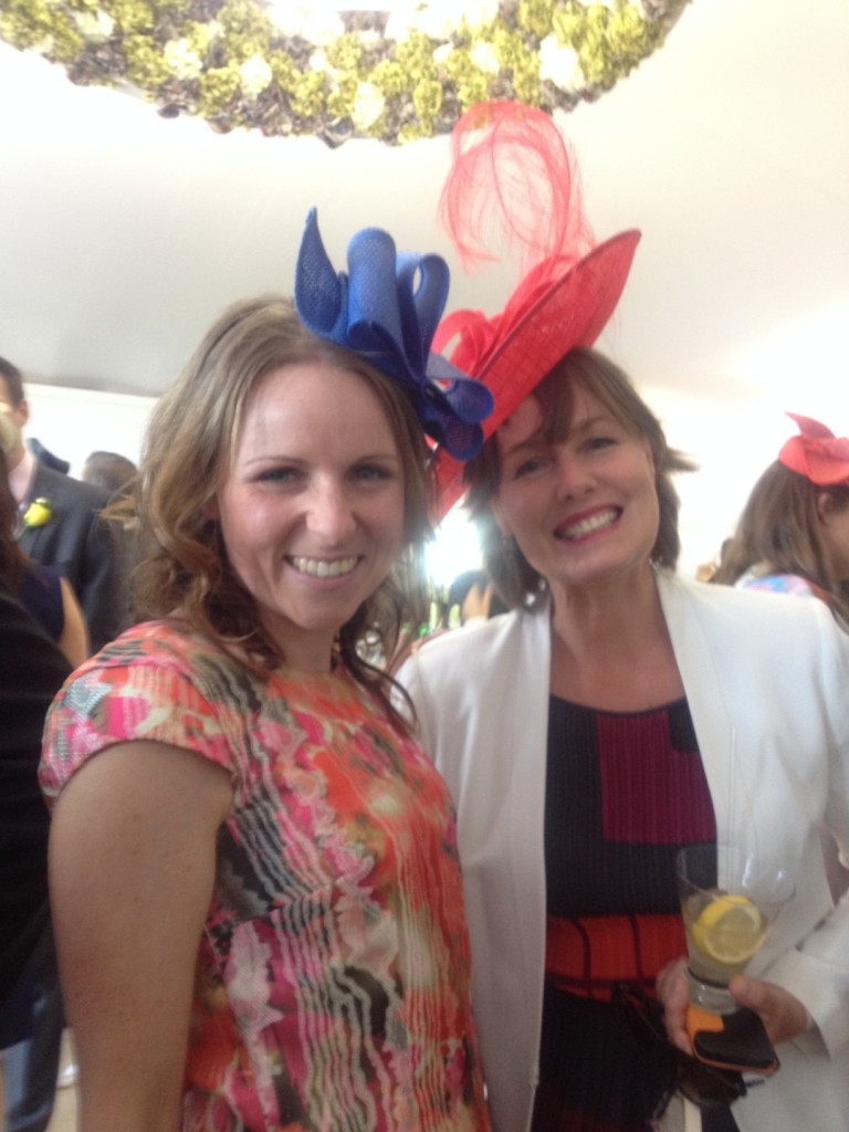 Wendy Tuohy and Sarah Kempson
