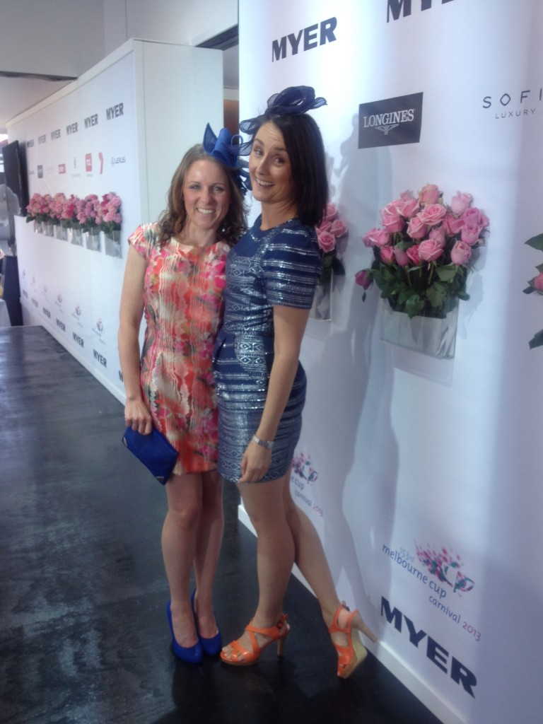 Sarah Kempson and Emma Heaslip Cup Day