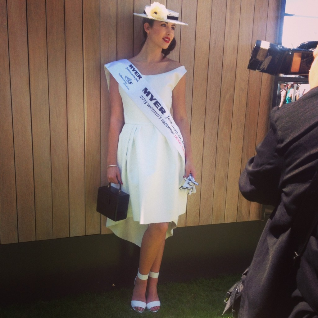Myer Fashions on the Field winner Derby Day